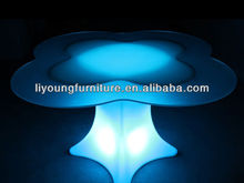 Colorful LED Lighting Bar Table /Modern LED Outdoor Bar Furniture with 16 Colors and 7 Flash Function Change LGL55-0361