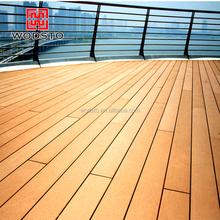 China Manufacture WPC Wood Flooring Synthetic Outdoor Material