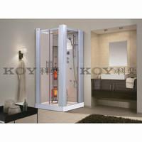 2015 European style steam shower room with infrared sauna K021