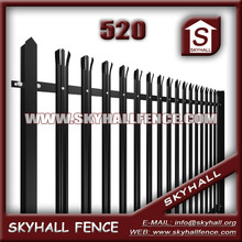 2015 Good Quality Powder Coated Factory decorative metal fence panels