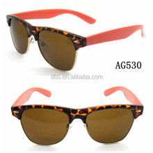 High quality metal classic circle frame retro sunglasses