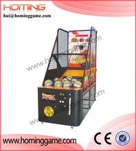 2015 new coin operated arcade basketball game machine / hoop fever basketball game outdoor / indoor street basketball game