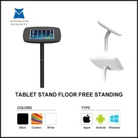 Quality-assured ABS + Aluminum floor stand for ipad