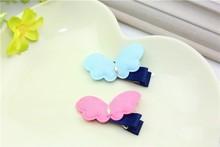2015 New Arrival Girls Handmade Butterfly Heart Fancy Hair Clips