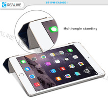 magnetic slim leather smart cover stand case for ipad mini 3