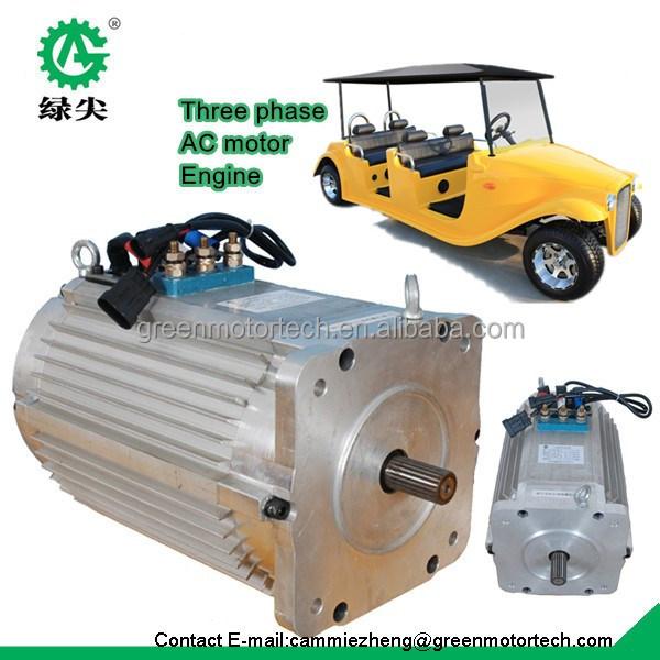 High power golf car brushless ac motor electric conversion for High power brushless dc motor