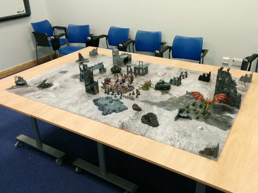 4 X6 Rubber Wargame Minitures Mat Large Wargame Terrain