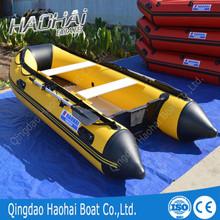 Certificação CE e Material de PVC 3.3 m de alumínio do casco pontão inflável barco