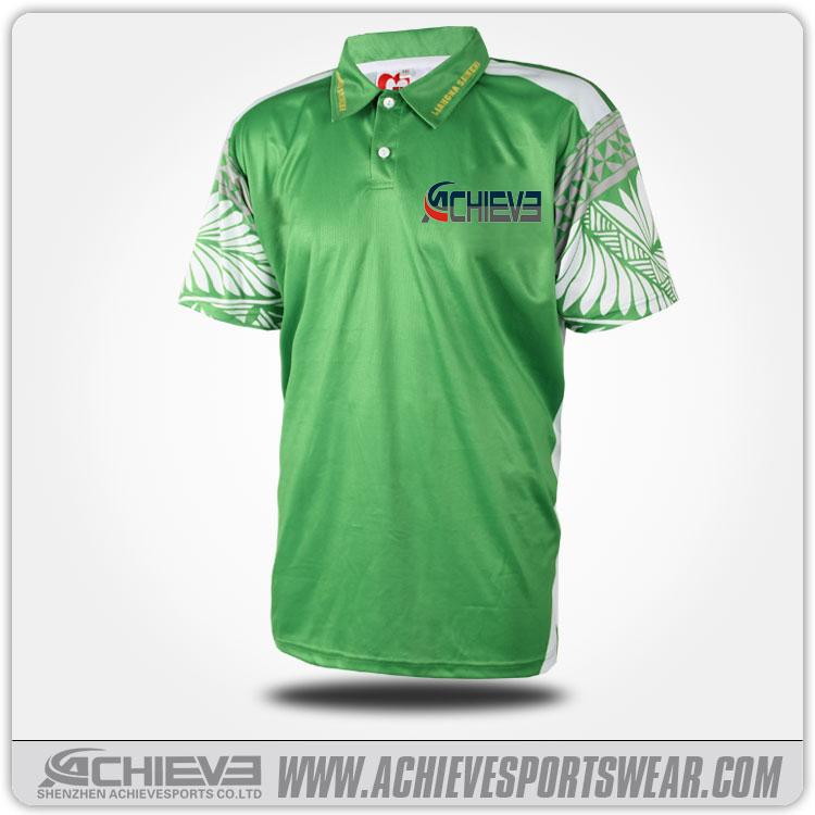 Custom sublimation polo bowling shirt 100 polyester polo for Custom polyester polo shirts