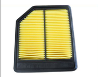 2015 new designed auto spare parts of air intake filters with PP material for car honda and OE: 17220-RNA-A00