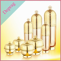 2015 new luxury 2 oz gold color Korea fragrance bottle,20g small packaging for cream,cosmetics packaging containers
