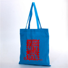 Screen Printing Surface Handling and Cotton Material Drawstring Bags For Package