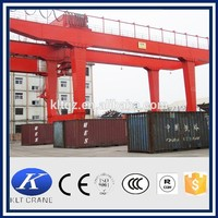 large capacity double girder gantry crane 100 ton 500t