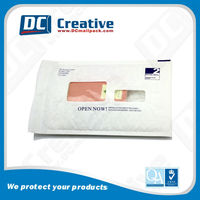 Chinese mail lite jiffy bags with window