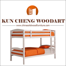 Bed Type and Wood Material kids bunk bed/2014 strong wooden bunk bed for adult