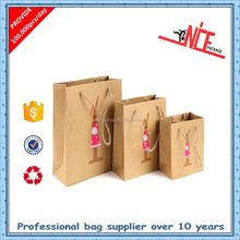 Alibaba website shopping bag brand name printed craft paper bag