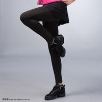 Girl leisure mesh slim skirt pants