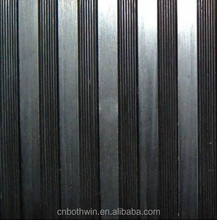 Wide\Fine\Composite ribbed rubber sheet