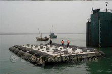 floating pneumatic ship launching airbags inflatable marine rubber airbags for ship launching landing ,heavy lifting,upgrading