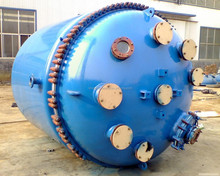 2014 new designed glass lined reactor resist to acid