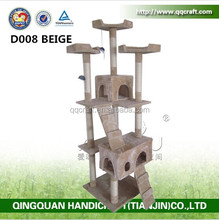Canton Fair Show Pet Houses Type Cat Tree Scraching Post Cat Pole