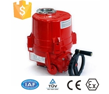 220V AC Electric Motor for Ball valves and butterfly valves-Ex, IP67