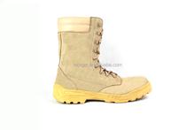 military/outdoor split suede boot