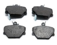 Brake pads for smart crossblade front 4514210010 of Guangzhou brake pads