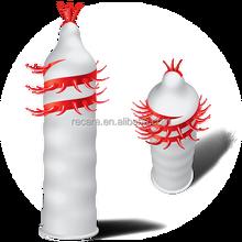 Unique Big Dotted Reusable Spike Condoms for Max Sensitivity