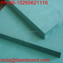 Green Colour Waterproof Medium Density Fiberboard ( MDF Board )