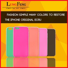 Fashion simple pc tpu mobile phone case for Iphone6 plus