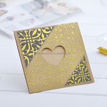 Hot sale Arabic muslim wedding invitations