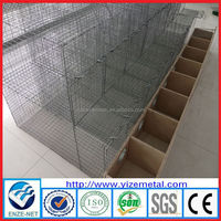 Alibaba China high quality galvanized mink cage ,commercial mink cage for sale ( factory manufacturer)