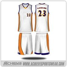 custom kids basketball jersey set