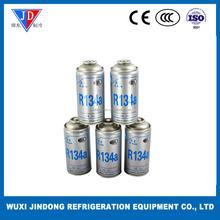 Small jar R134A refrigerant gas for automotive use
