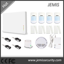 tcp/ip home alarm system with 8 alarm channels JM-G1A