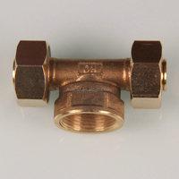 High quality! Series Custom Make Straght/Tee/Elbow Type Female Thread Brass Pipe Fitting