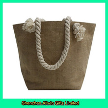 Eco-friendly Jute Bag High quality drawstring shopping jute bag