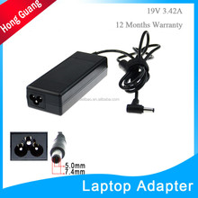 laptop ac adapter charger for asus 19v 3.42a 65w