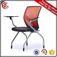 conference chair 0801H-27 office chair furniture gujranwala with tablet writing table