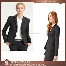 New design fashion latest ladies formal blazer