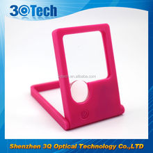 DH-83003 business card led magnify lens bug viewer toy magnifying glass