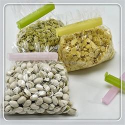 Simple durable plastic bag sealer clips pure color bag clips maker