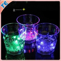 Hot Sale Custom Flashing LED Glass is Used in Bar,Club
