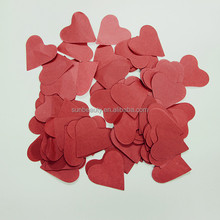 2015 Wholesales heart shaped paper confetti for proposal