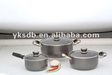 2015 New design eco friendly cookware set,stainless steel cookware