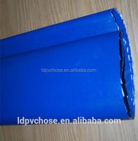 High quaity large radius fresh matiral dark blue water running plastic soft flexible PVC hose pipe