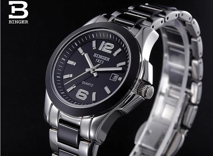 Мужчины Спорт Сталь Классический 38 мм Большой Черный Простой Циферблат Автоматическая GMT Часы С Оригинальный Логотип Наручные Часы Горячие Продать Бингер часы