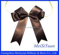 decorative ribbon bow for box/satin ribbon bow for wrap