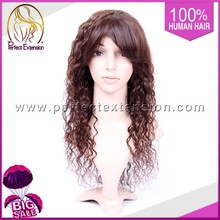 China Shop Online Cheap Curly Human Hair Wigs For Men Silicone Base Wig